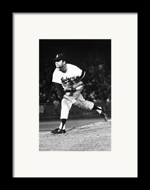 Don Drysdale (1936-1993) Framed Print By Granger