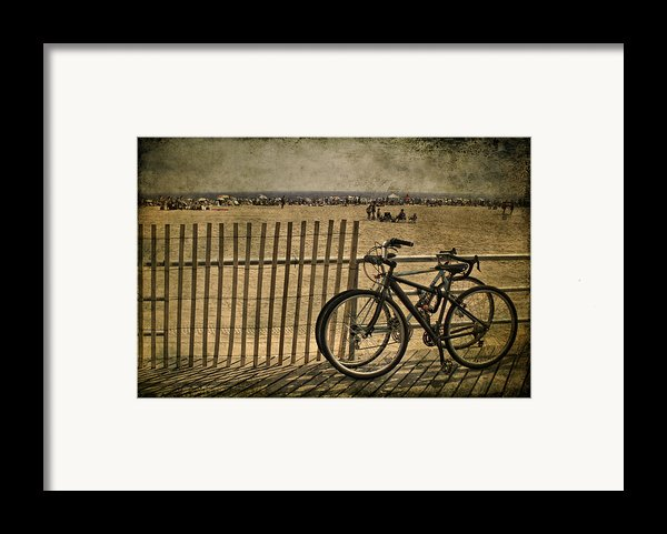 Gone Swimming Framed Print By Evelina Kremsdorf
