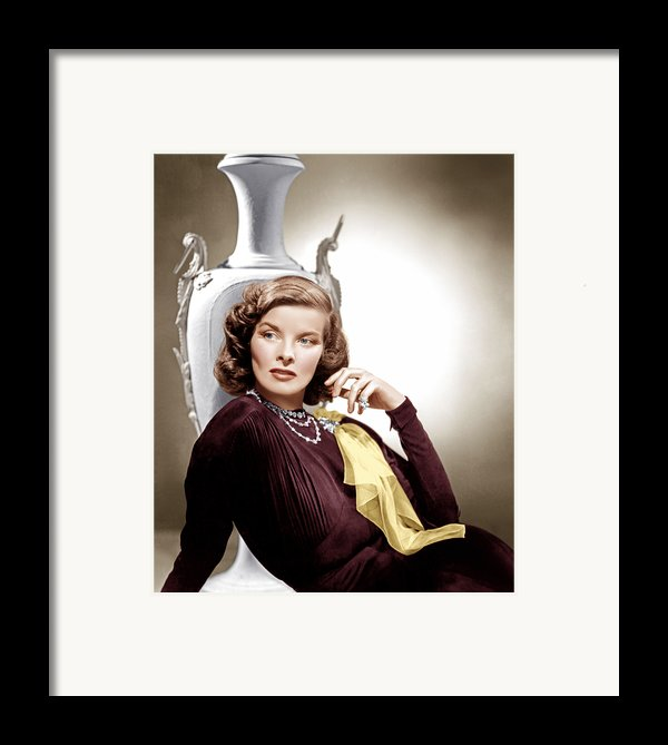 Holiday, Katharine Hepburn, 1938 Framed Print By Everett