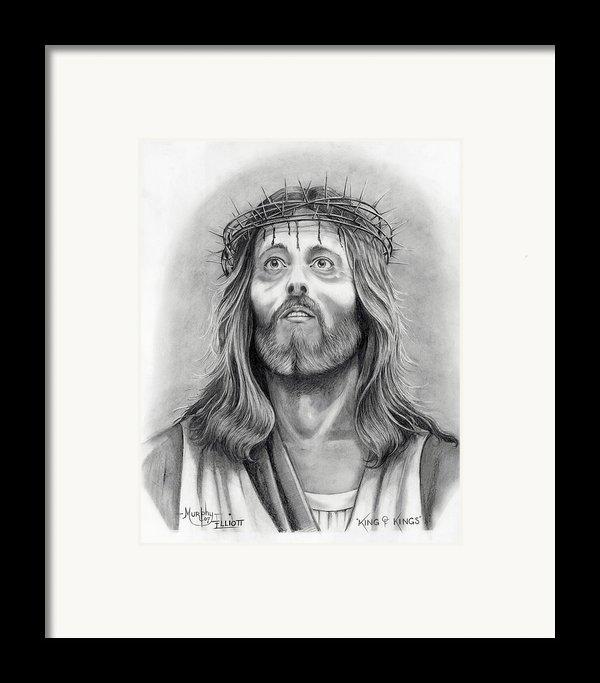 King Of Kings Framed Print By Murphy Elliott