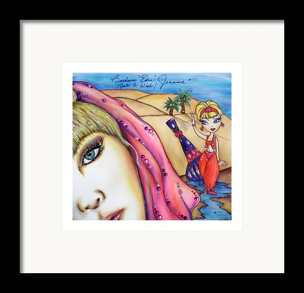 Make A Wish Framed Print By Joseph Lawrence Vasile