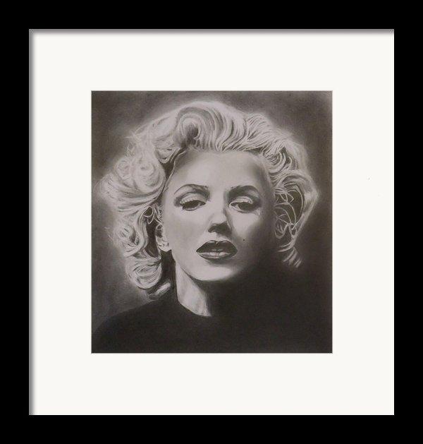 Marilyn Monroe Framed Print By Mike Oconnell