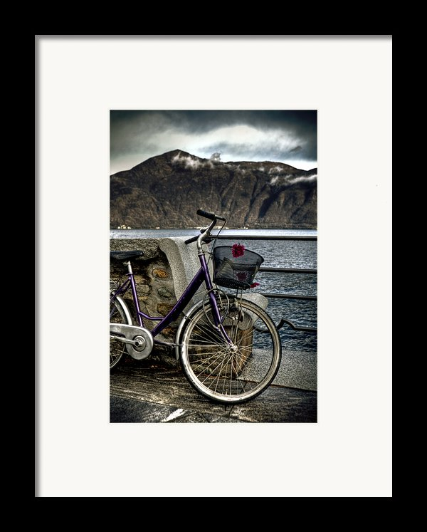 Retro Bike Framed Print By Joana Kruse