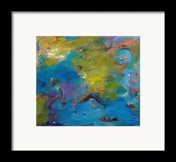 Still Waters Run Deep Framed Print By Johnathan Harris