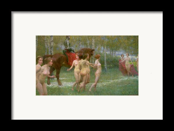 The Knights Dream Framed Print By Richard Mauch