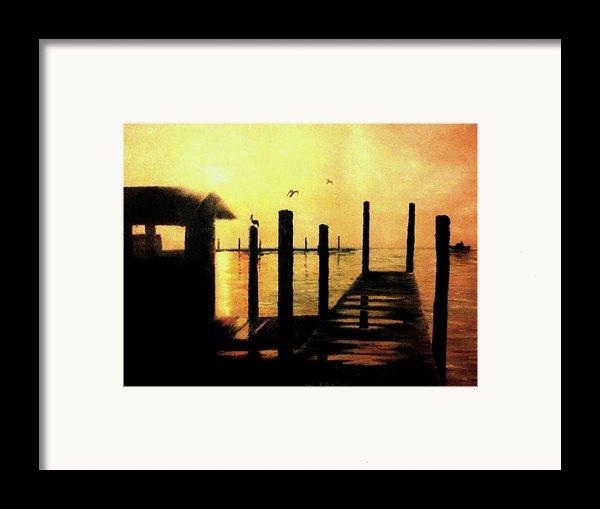 Warm Waters Framed Print By Travis  Ragan