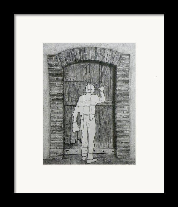 Being Taken Framed Print By Richard Barone