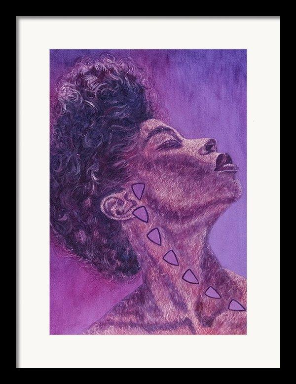Madame Zasha Framed Print By Shahid Muqaddim