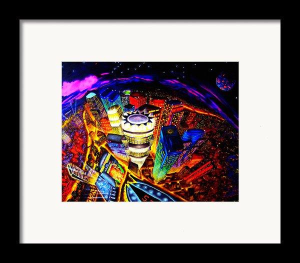 Vorticity Ii Framed Print By Chris Haugen