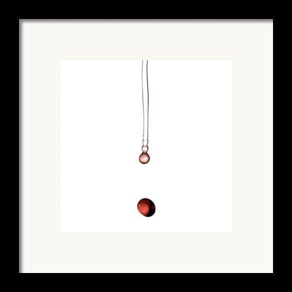 A Drop Of Wine Framed Print By Frank Tschakert