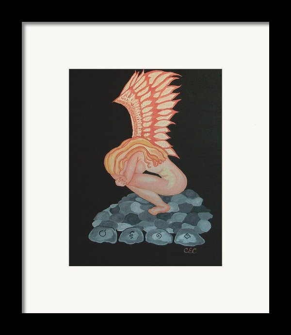 A Moments Rest Framed Print By Carolyn Cable