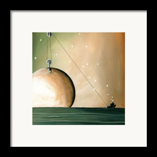 A Solar System Framed Print By Cindy Thornton