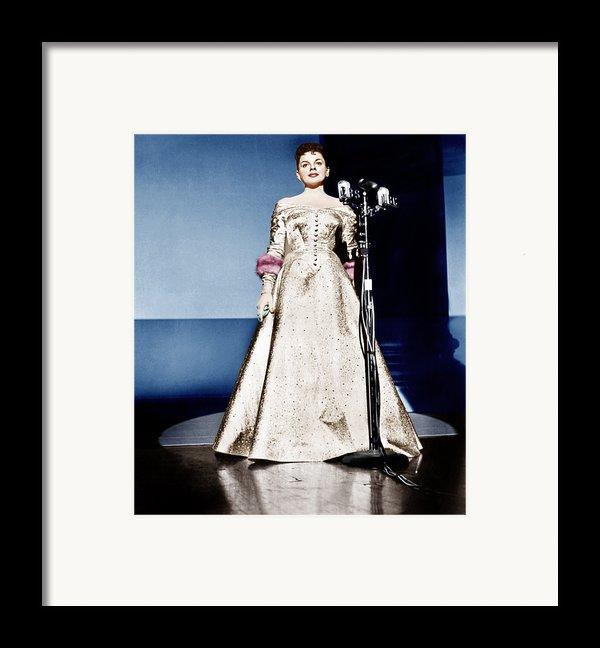 A Star Is Born, Judy Garland, 1954 Framed Print By Everett