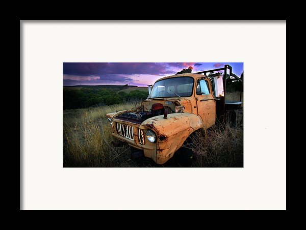 Abandoned Framed Print By Tim Nichols