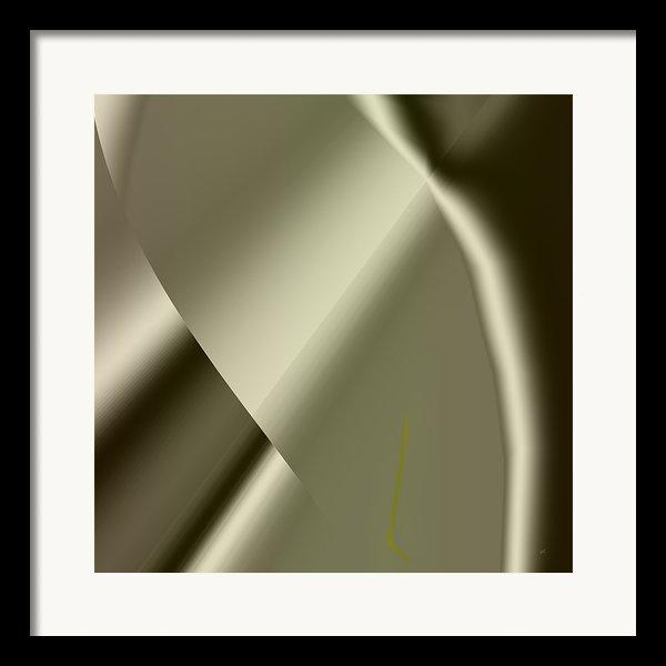 Abstract 1002 Framed Print By Gerlinde Keating - Keating Associates Inc