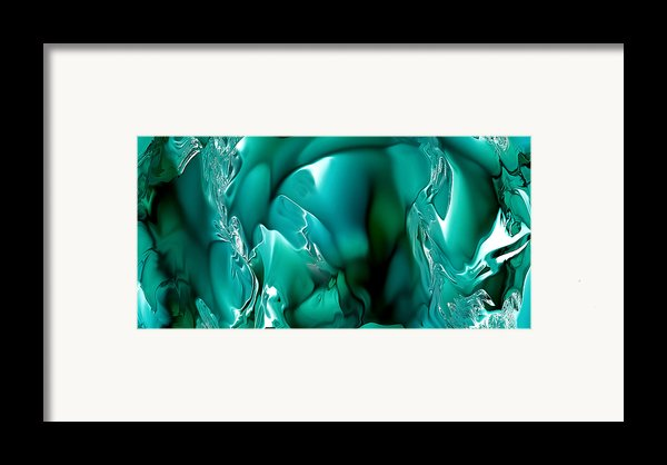 Abstract 301 Framed Print By Angelina Cornidez