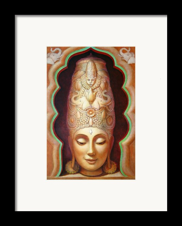 Abundance Meditation Framed Print By Sue Halstenberg