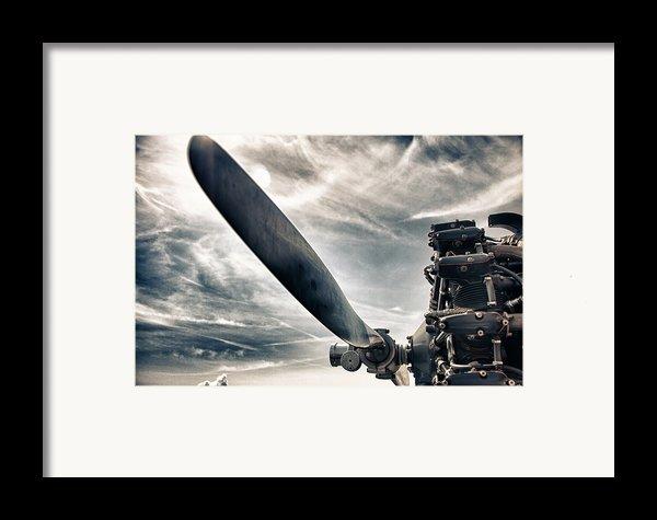Aero Machine Framed Print By Nathan Larson