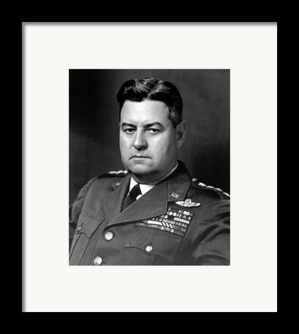 Air Force General Curtis Lemay  Framed Print By War Is Hell Store
