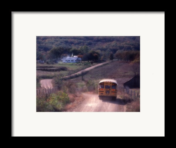 Almost Home Framed Print By Garry Mcmichael