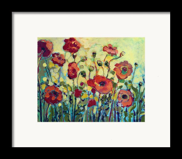 Anitas Poppies Framed Print By Jennifer Lommers