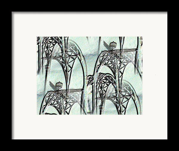 Arches 4 Framed Print By Tim Allen
