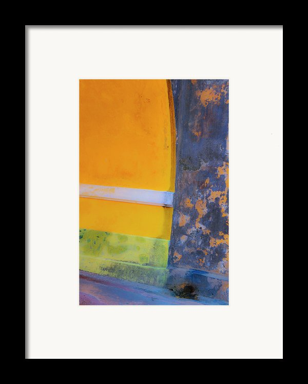 Archway Wall Framed Print By Stephen Anderson