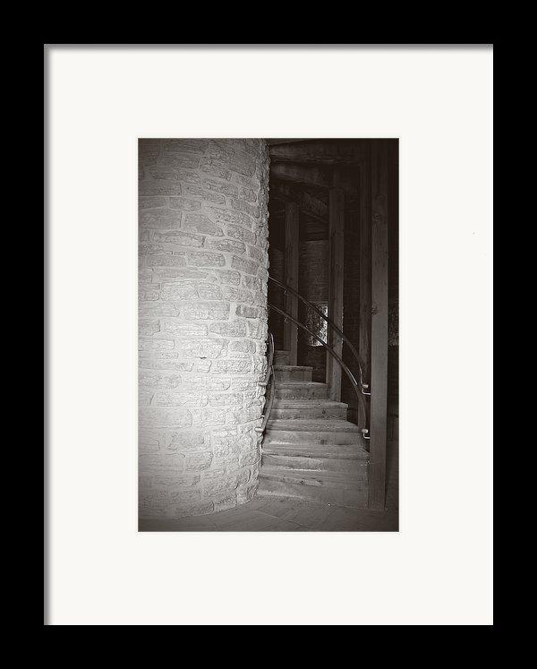 Around The Corner Framed Print By Giliane Mansfeldt