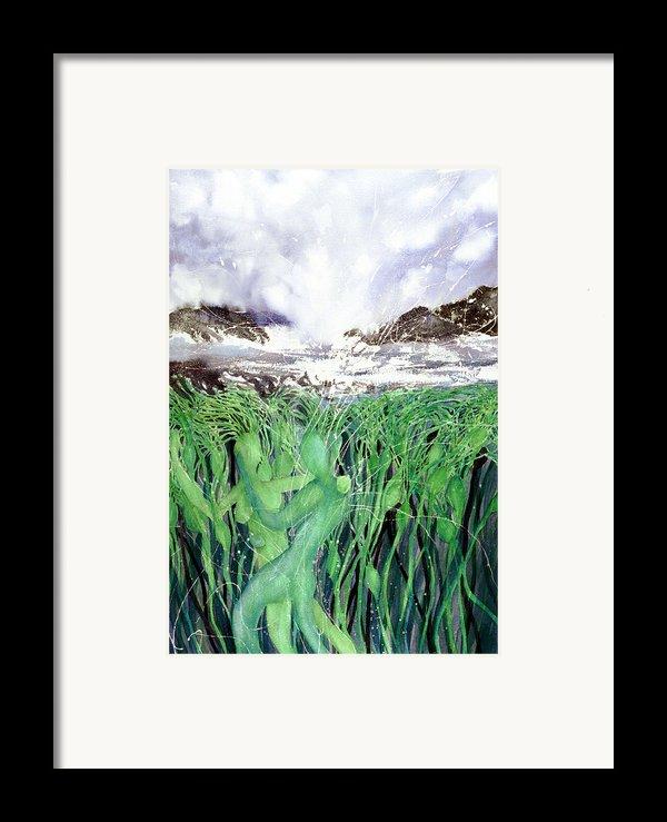 Arturo And Katarina Framed Print By Cory Calantropio