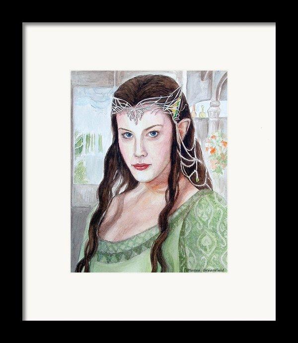 Arwen Framed Print By Mamie Greenfield