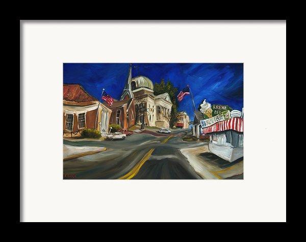 Athens Al Framed Print By Carole Foret