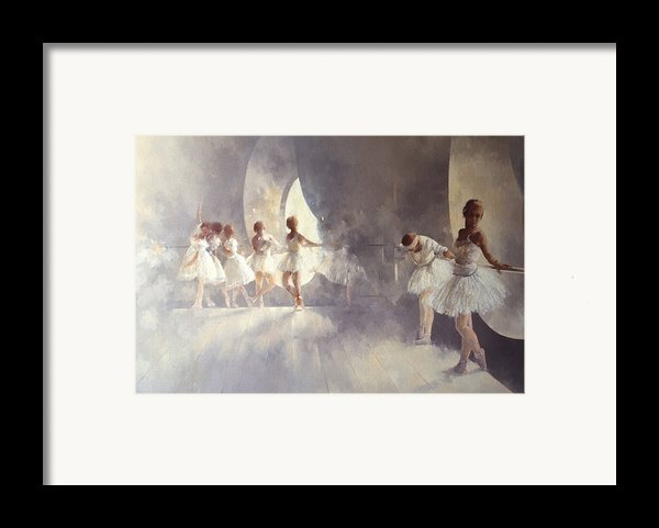 Ballet Studio  Framed Print By Peter Miller