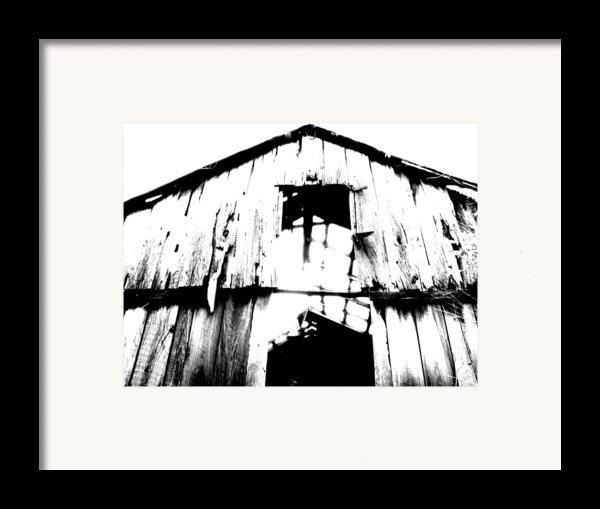 Barn Framed Print By Amanda Barcon