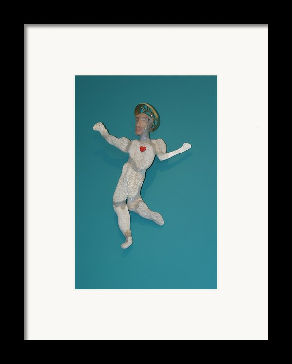 Beach Christ Framed Print By Michael Jude Russo