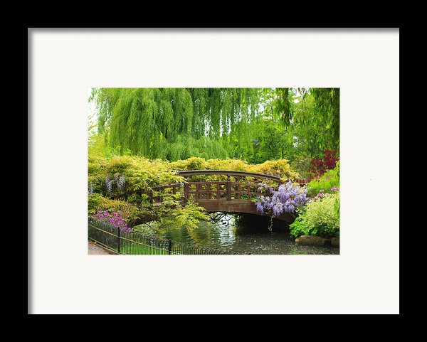 Beautiful Garden Art Framed Print By Boon Mee