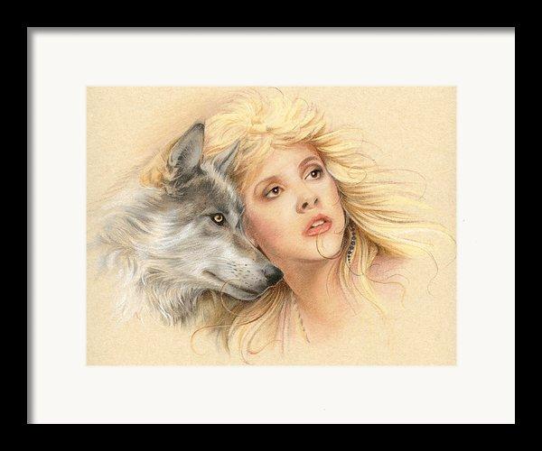 Beauty And The Beast Framed Print By Johanna Pieterman