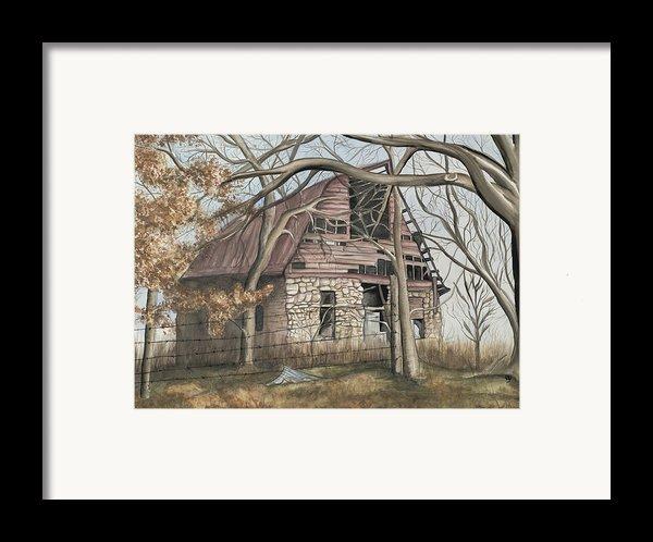 Bella Vista Barn Framed Print By Patty Vicknair