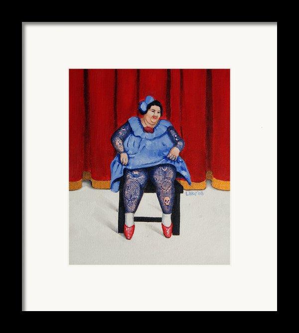 Betty 1 Framed Print By Matthew Lake