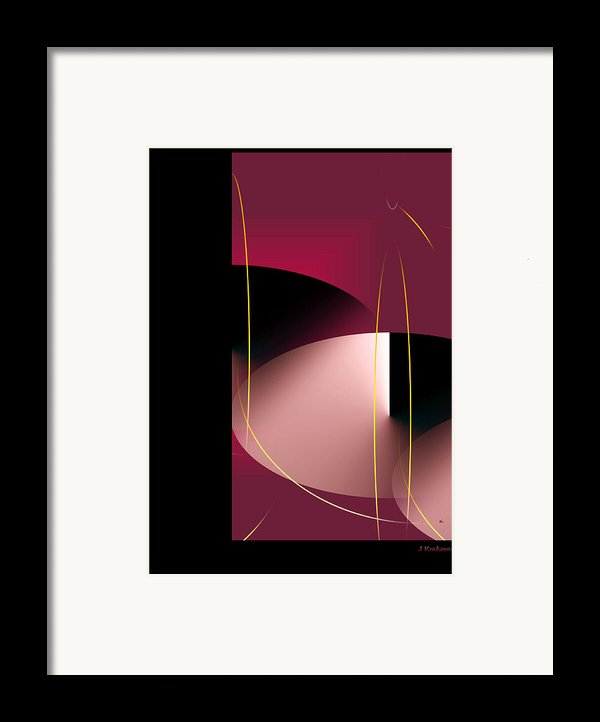 Black Vs White Vs Red Framed Print By John Krakora