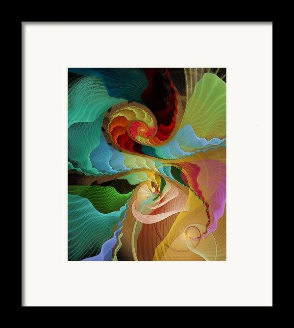 Blending Into Our Souls Framed Print By Gayle Odsather