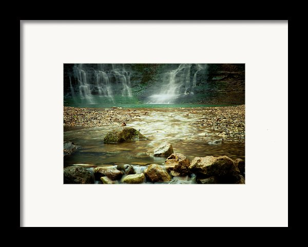 Break Of Silence Framed Print By Iris Greenwell