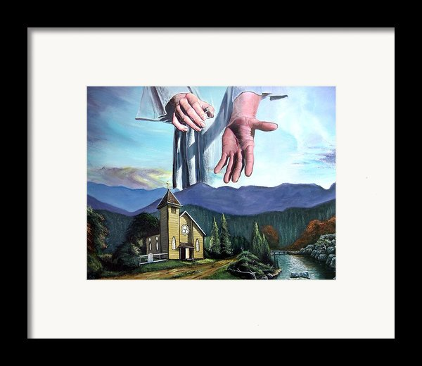 Bridegroom Framed Print By Larry Cole