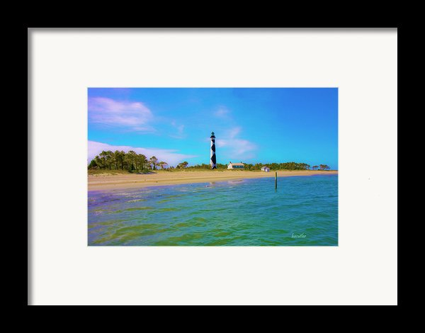 Cape Lookout 1 Framed Print By Betsy A  Cutler