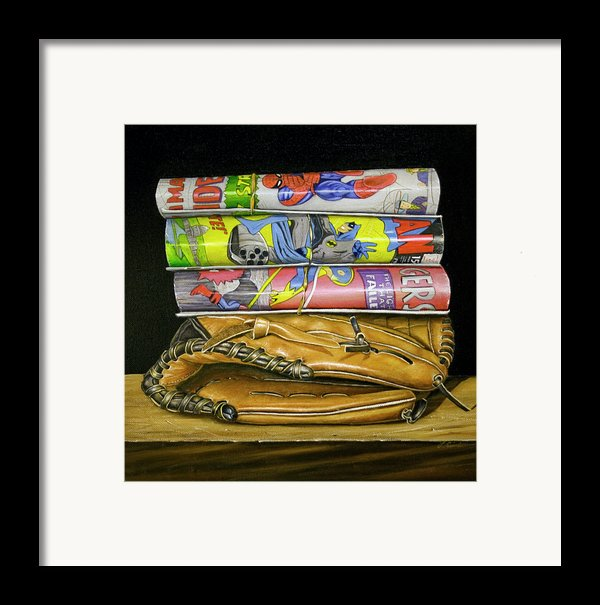 Catch The Hero Framed Print By Vic Vicini
