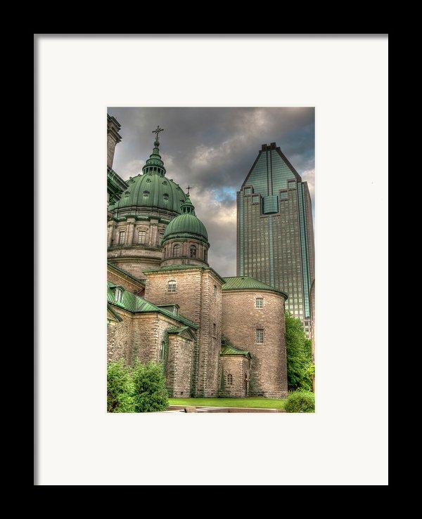 Cathedral Framed Print By Elisabeth Van Eyken