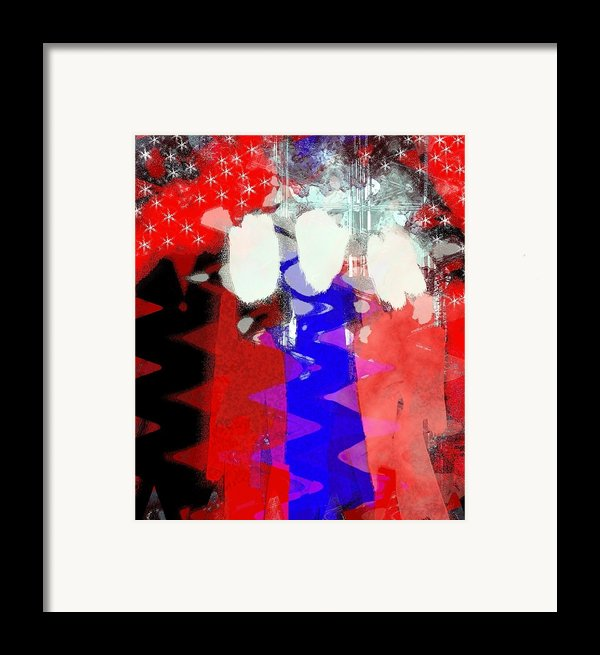 Celebration 3 Framed Print By Mimo Krouzian
