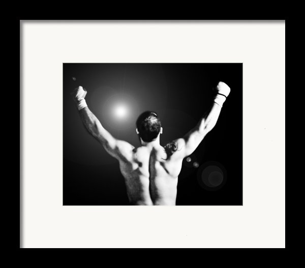 Champion Framed Print By Dean Farrell