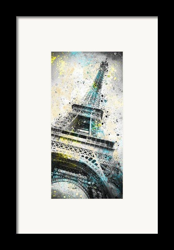 City-art Paris Eiffel Tower Iv Framed Print By Melanie Viola