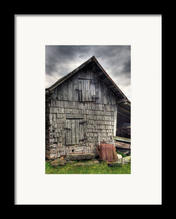Closed For Business Framed Print By Pete Hellmann