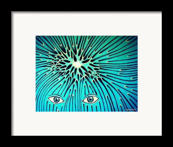 Confluence Framed Print By Paulo Zerbato